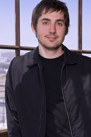 Diggnation - Kevin Rose Portrait iPhone Wallpaper