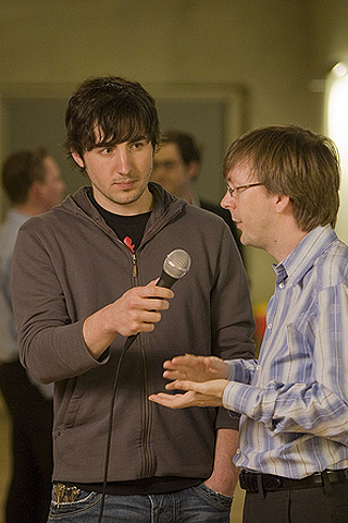Diggnation - Kevin Rose Intrview iPhone Wallpaper