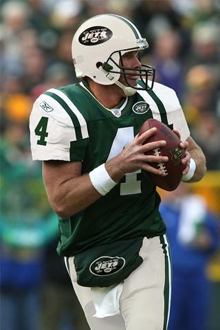 New York Jets - Brett Favre iPhone Wallpaper