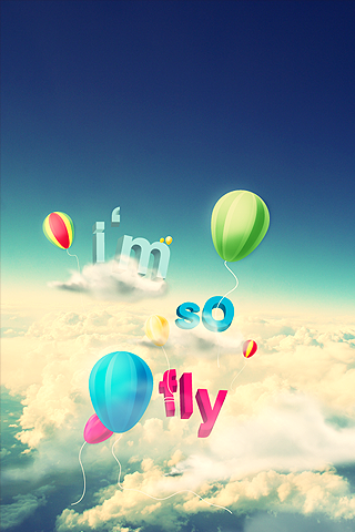 I'm So Fly iPhone Wallpaper