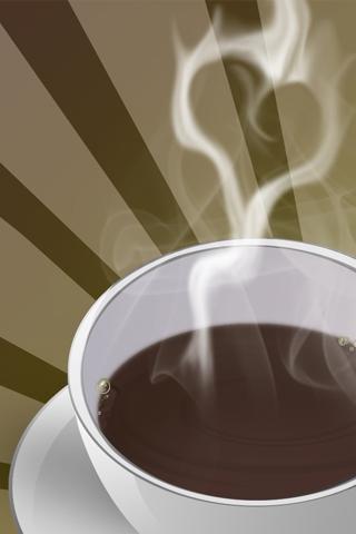 Hot Coffee iPhone Wallpaper