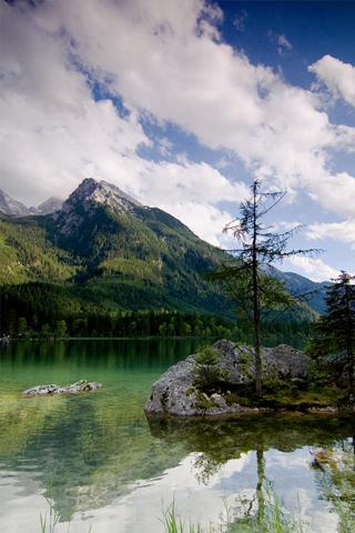 Beautiful Lake iPhone Wallpaper
