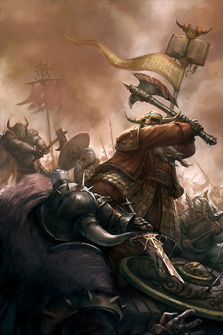Warhammer Battle iPhone Wallpaper