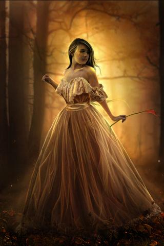 Fairy Princess iPhone Wallpaper