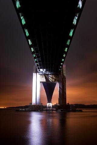Bridge Architecture iPhone Wallpaper