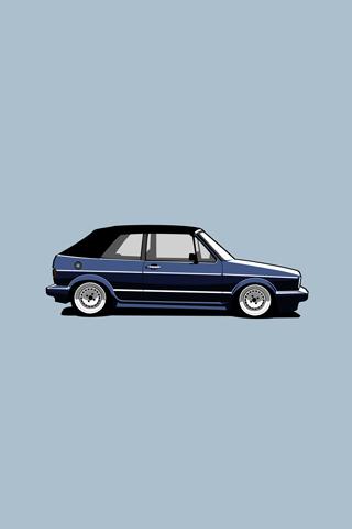 VW Golf IPhone Wallpaper