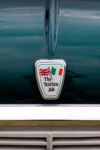 The Italian Job iPhone Wallpaper