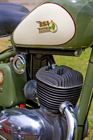 BSA Bantam II iPhone Wallpaper