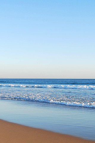 Beautiful Beach iPhone Wallpaper