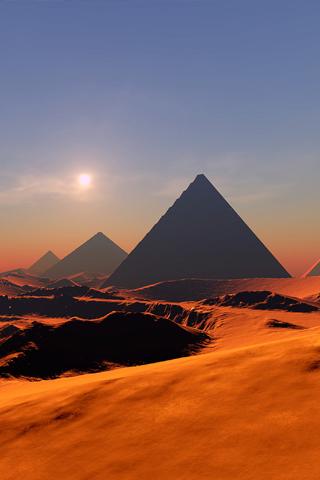 Hazy Egypt Iphone Wallpaper Idesign Iphone