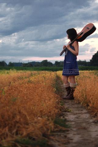 Farmers Daughter iPhone Wallpaper
