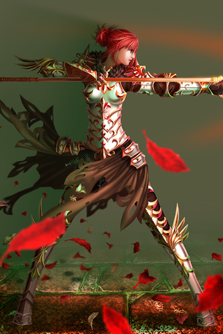 Anime Battle iPhone Wallpaper