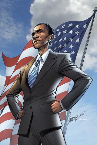 Obama iPhone Wallpaper