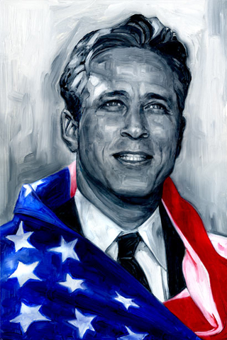 Jon Stewart Pride iPhone Wallpaper