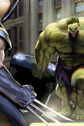 Incredible Hulk iPhone Wallpaper