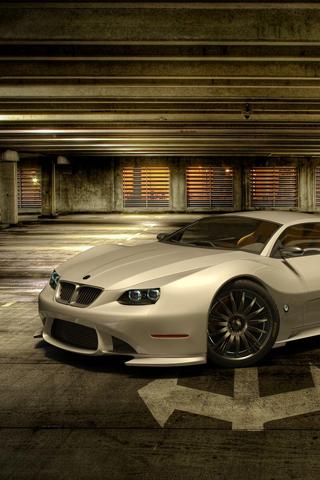 BMW Concept Car iPhone Wallpaper
