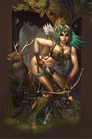 Mystical Creature iPhone Wallpaper