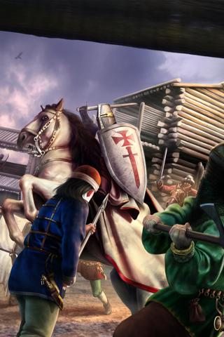 Medieval Battle iPhone Wallpaper