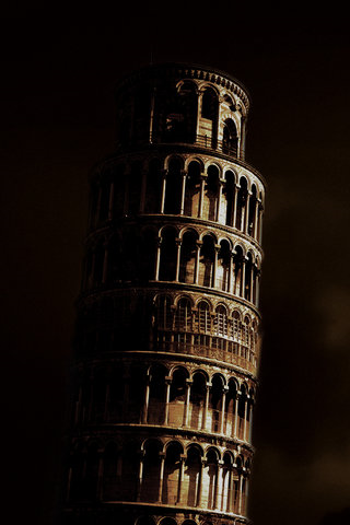 Leaning Tower iPhone Wallpaper