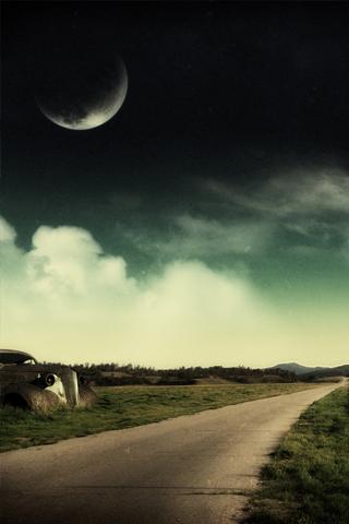 Fantasy Road iPhone Wallpaper