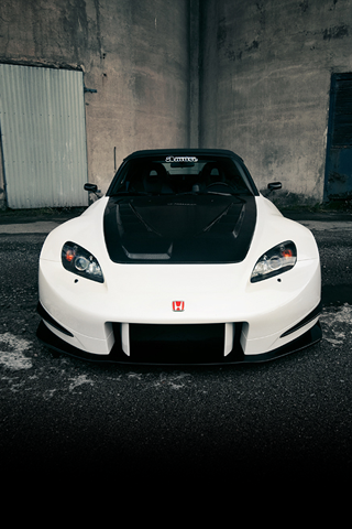 Honda S2000 Front iPhone Wallpaper