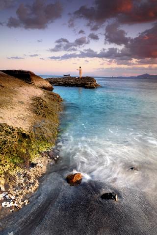 Sea Shore iPhone Wallpaper