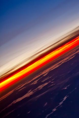 Distant Sunset iPhone Wallpaper