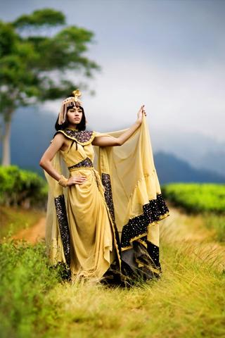 Cleopatra iPhone Wallpaper