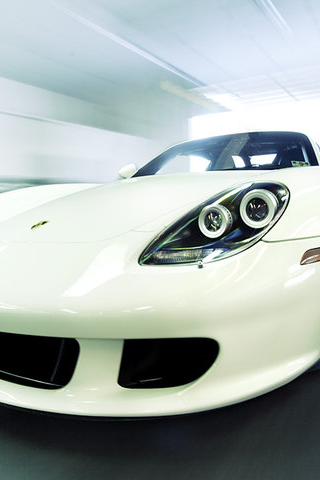Porsche Carrera GT iPhone Wallpaper