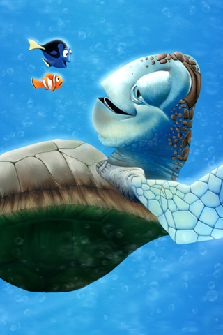 Finding Nemo iPhone Wallpaper