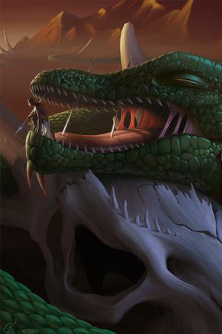 Dragon Slayer iPhone Wallpaper