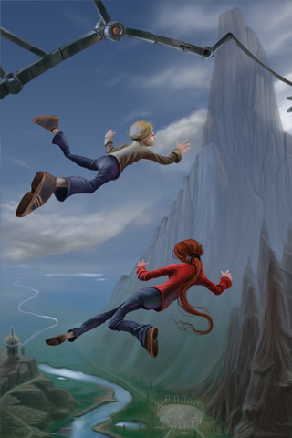 Leap of Faith iPhone Wallpaper