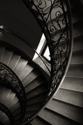 Spiral Staircase iPhone Wallpaper