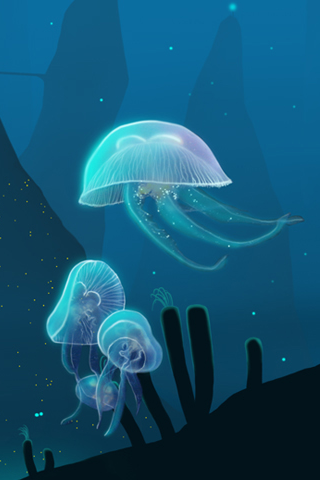 Jelly Fish iPhone Wallpaper