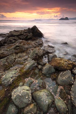 Shoreline iPhone Wallpaper