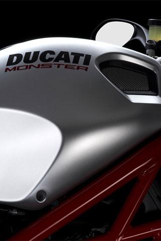 Ducati Monster iPhone Wallpaper | iDesign iPhone