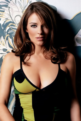 Elizabeth Hurley iPhone Wallpaper