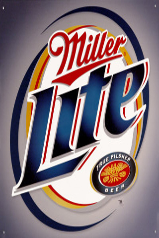 Miller Lite iPhone Wallpaper