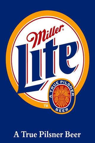 Miller Lite iPhone Wallpaper