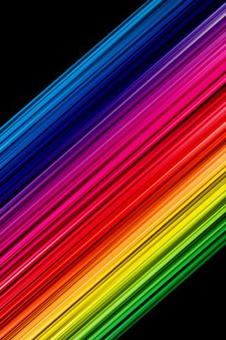 Colour Spectrum iPhone Wallpaper