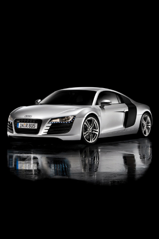Audi R8 iPhone Wallpaper