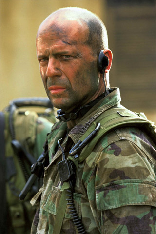 Bruce Willis iPhone Wallpaper