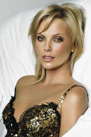 Charlize Theron IPhone Wallpaper