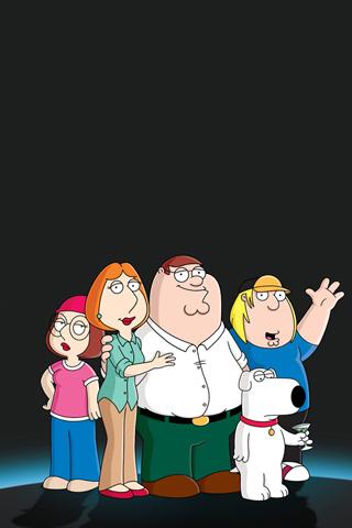 Family Guy iPhone Wallpaper