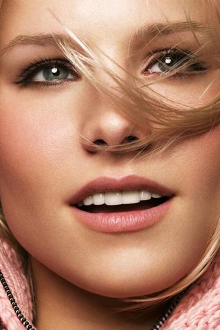 Kristen Bell iPhone Wallpaper