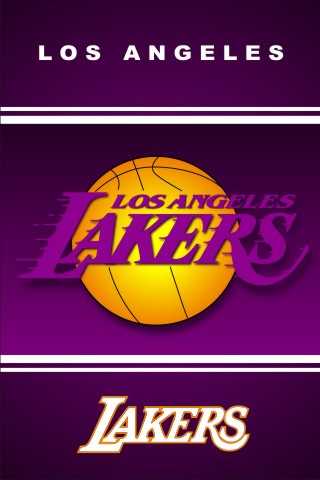 L.A Lakers iPhone Wallpaper