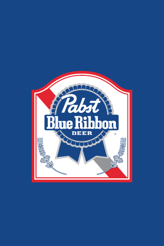 Pabst - Blue Ribbon iPhone Wallpaper