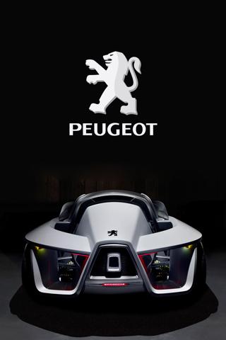 Peugeot iPhone Wallpaper