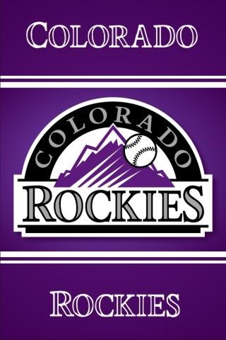 Colorado Rockies iPhone Wallpaper