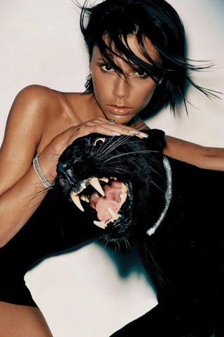 Victoria Beckham iPhone Wallpaper